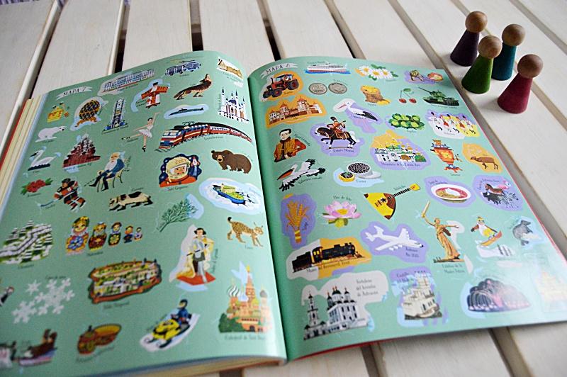 Hoy leemos Atlas ilustrado Usborne