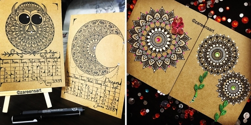 00-Mandala-Drawings-on-Journals-Calendar-and-Boxes-www-designstack-co