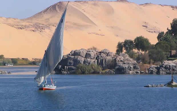 Rio Nilo e sua importância