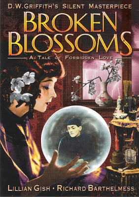 Broken Blossoms by D.W. Griffith film poster / Αφίσα για την ταινία του Ντέιβιντ Γκρίφιθ Σπασμένο Κρίνο