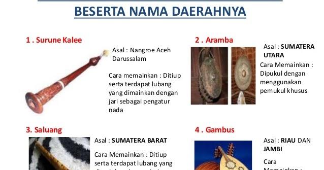 Alat Musik Dan Upacara Adat Seluruh Daerah Di Indonesia Ocehan Ade Anita