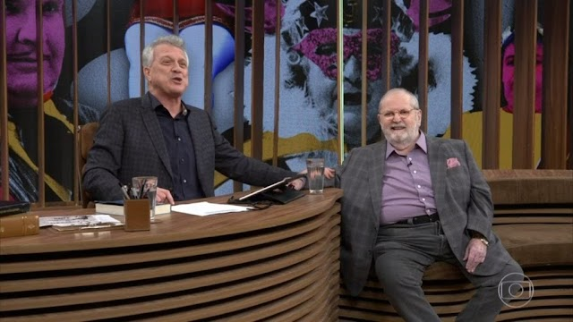 Globo fura o olho da Record e Jô Soares vai ao Programa do Bial na despedida do Porchat