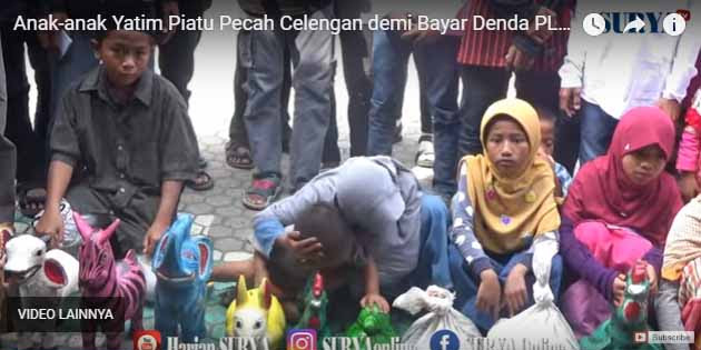 [Vidio] Miris, Listrik Panti Asuhan Diputus PLN, Anak Yatim Piatu ini Pecah Celengan Demi Bayar Denda Rp 10 Juta