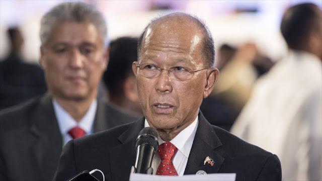 Filipinas advierte a China de militarización de isla en disputa