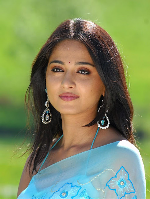 Anushka Shetty hot saree pics