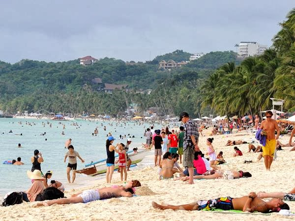 Tourists Visited Boracay