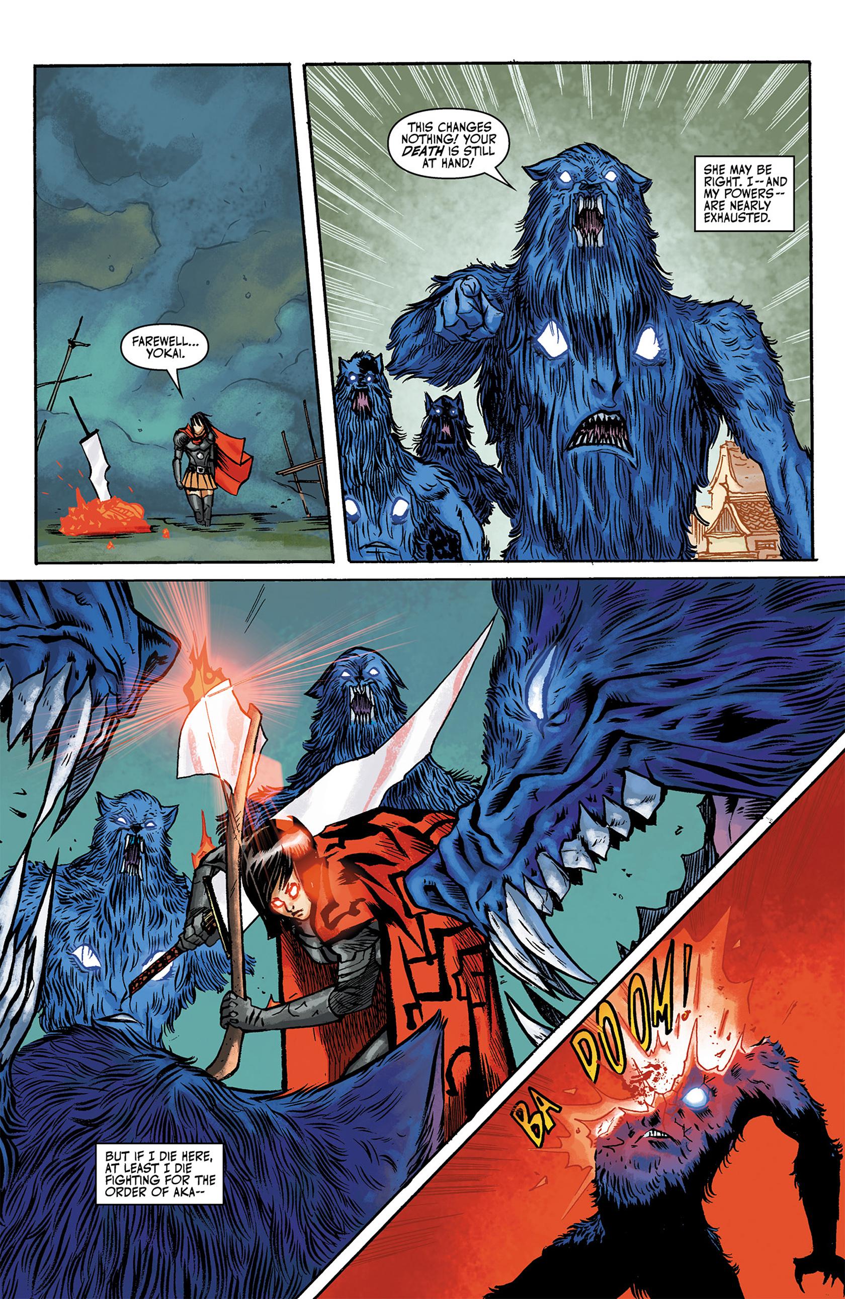 Read online Akaneiro comic -  Issue #3 - 9