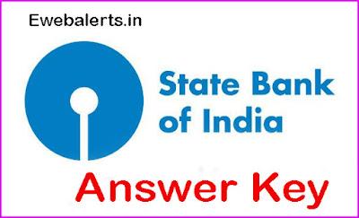 SBI Junior Associate Answer Key