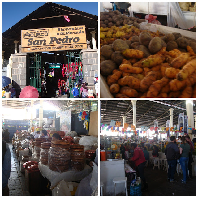 Mercado de San Pedro, Cusco, Peru