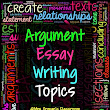 Argument Essay Writing Claims