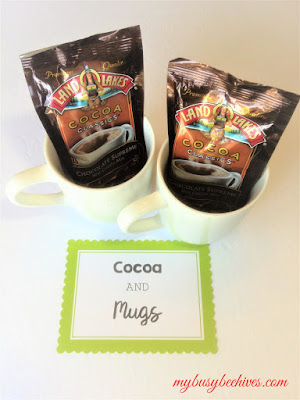 cocoa and mugs