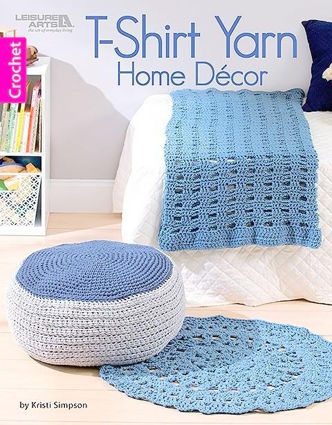 tshirt yarn home decor crochet pattern