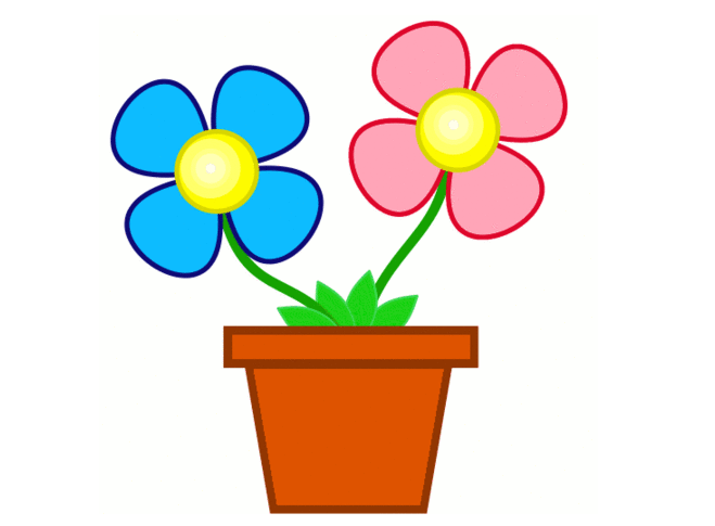 clipart flower backgrounds - photo #47