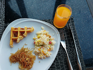 Breakfast items, Restaurant Medinii, The Continent Hotel Bangkok