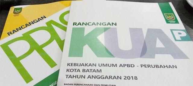 DPRD Batam Jadwal Pembahasan Rancangan KUA-PPAS Bersama TAPD Pemko Batam
