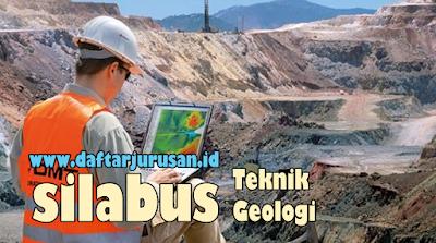 Daftar Silabus / Mata Kuliah Yang Dipelajari Pada Teknik Geologi