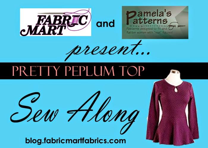 Fabric Mart Fabricistas: Sew Along Announcement!! Pamela's