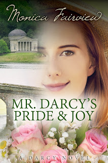 Book cover: Mr Darcy's Pride & Joy by Monica Fairview