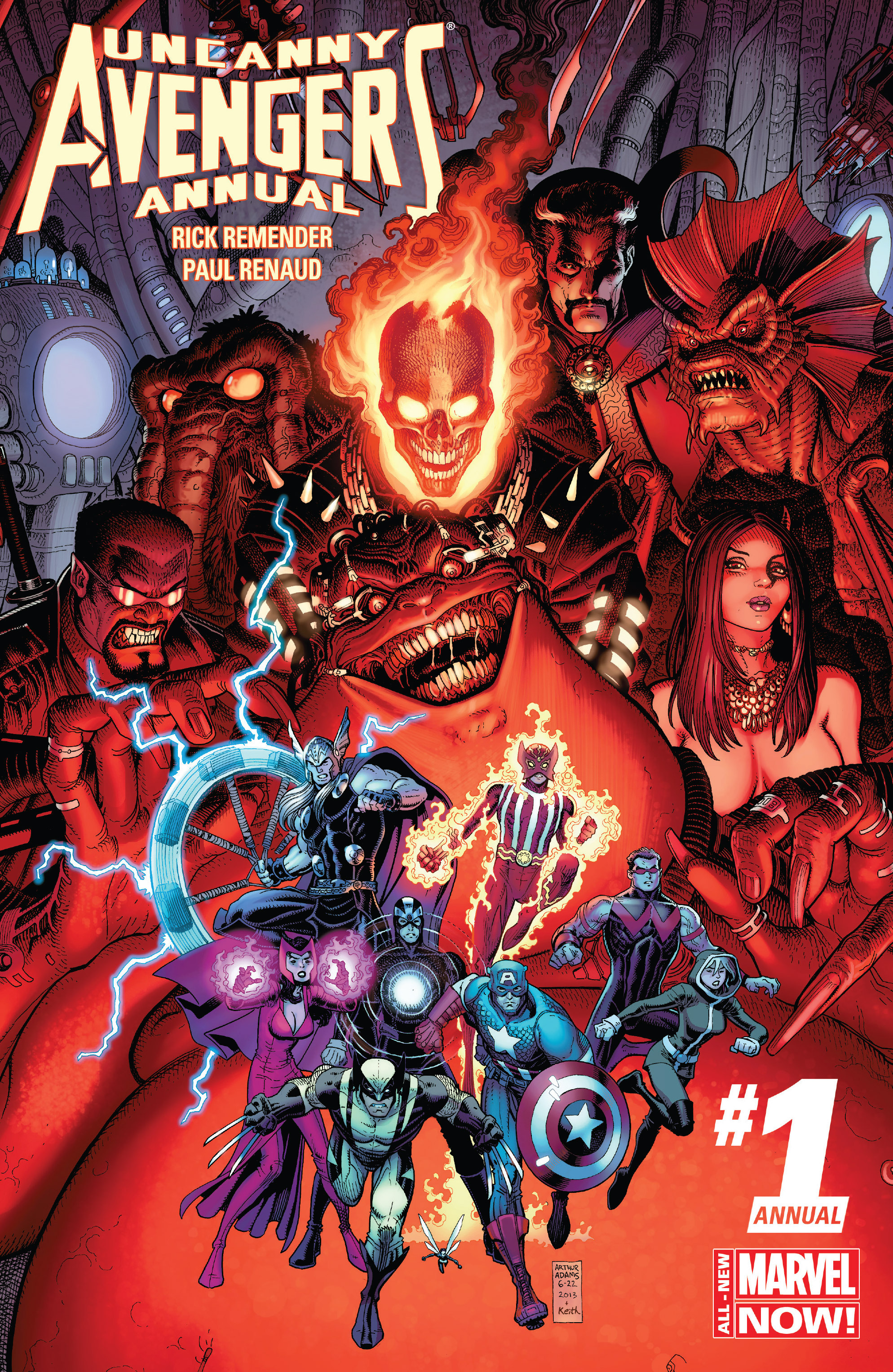 Read online Uncanny Avengers (2012) comic -  Issue # Annual 1 - 1