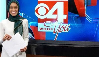 Reporter berjilbab pertama di Amerika, Tahera Rahman