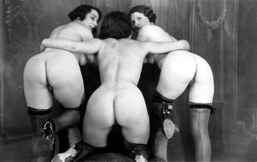 vintage naked ass Retro,