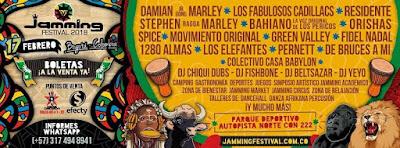 JAMMING FESTIVAL 7 Bogotá