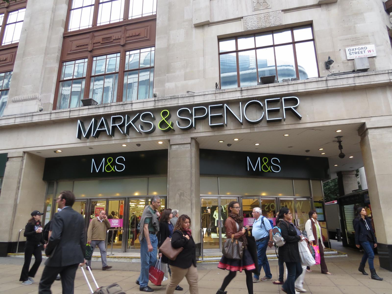 8aaa036ea Loja de departamentos Marks   Spencer em Londres