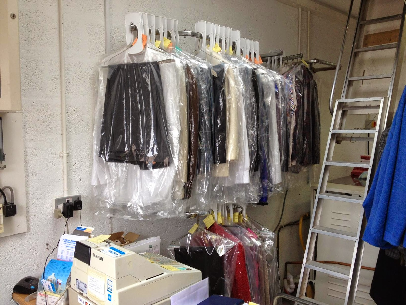 dry cleaning and laundry business plan