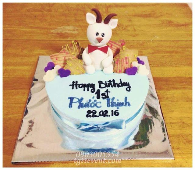 Dịch vụ trang trí thôi nôi sinh nhật- Bé Phước Thịnh