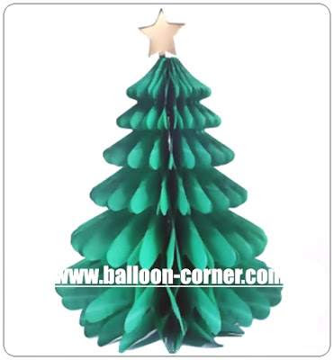 Honeycomb Christmas Tree / Honeycomb Pohon Natal