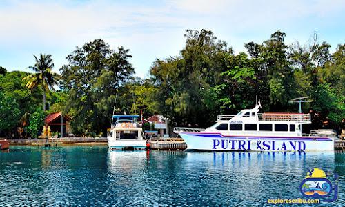 pulau resort putri island