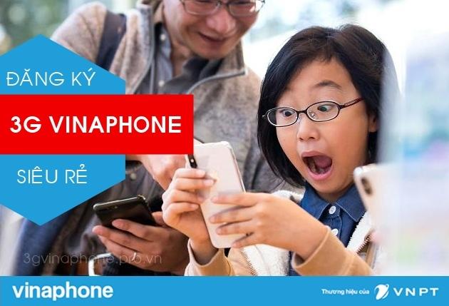 Đăng ký 3G Vinaphone siêu rẻ