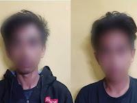 Kuasai Barang Haram Narkoba Jenis Sabu, 2 Remaja Tonasa 1 Pangkep Diamankan Polisi