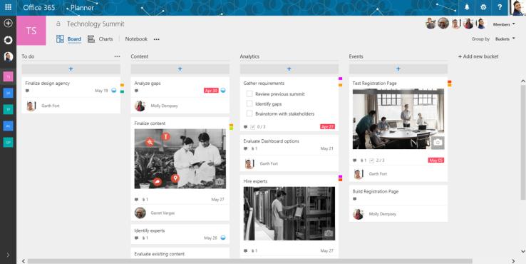 مايكروسوفت تطلق برنامج إدارة فرق العمل Planner