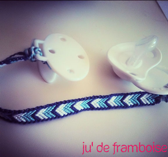 Attacher un bracelet en tissu