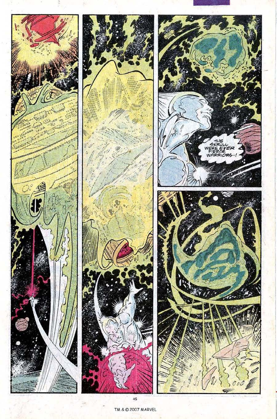 Read online Silver Surfer (1987) comic -  Issue #25 - 47