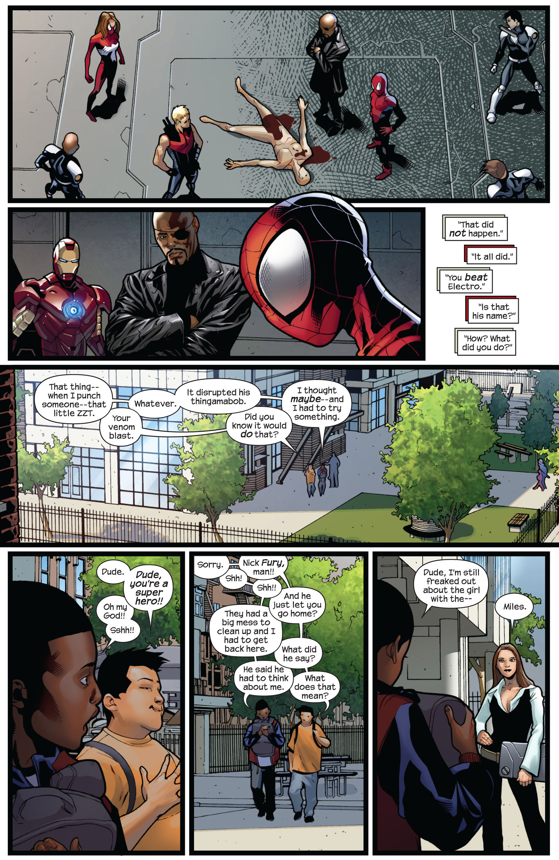 Read online Ultimate Comics Spider-Man (2011) comic -  Issue #5 - 20