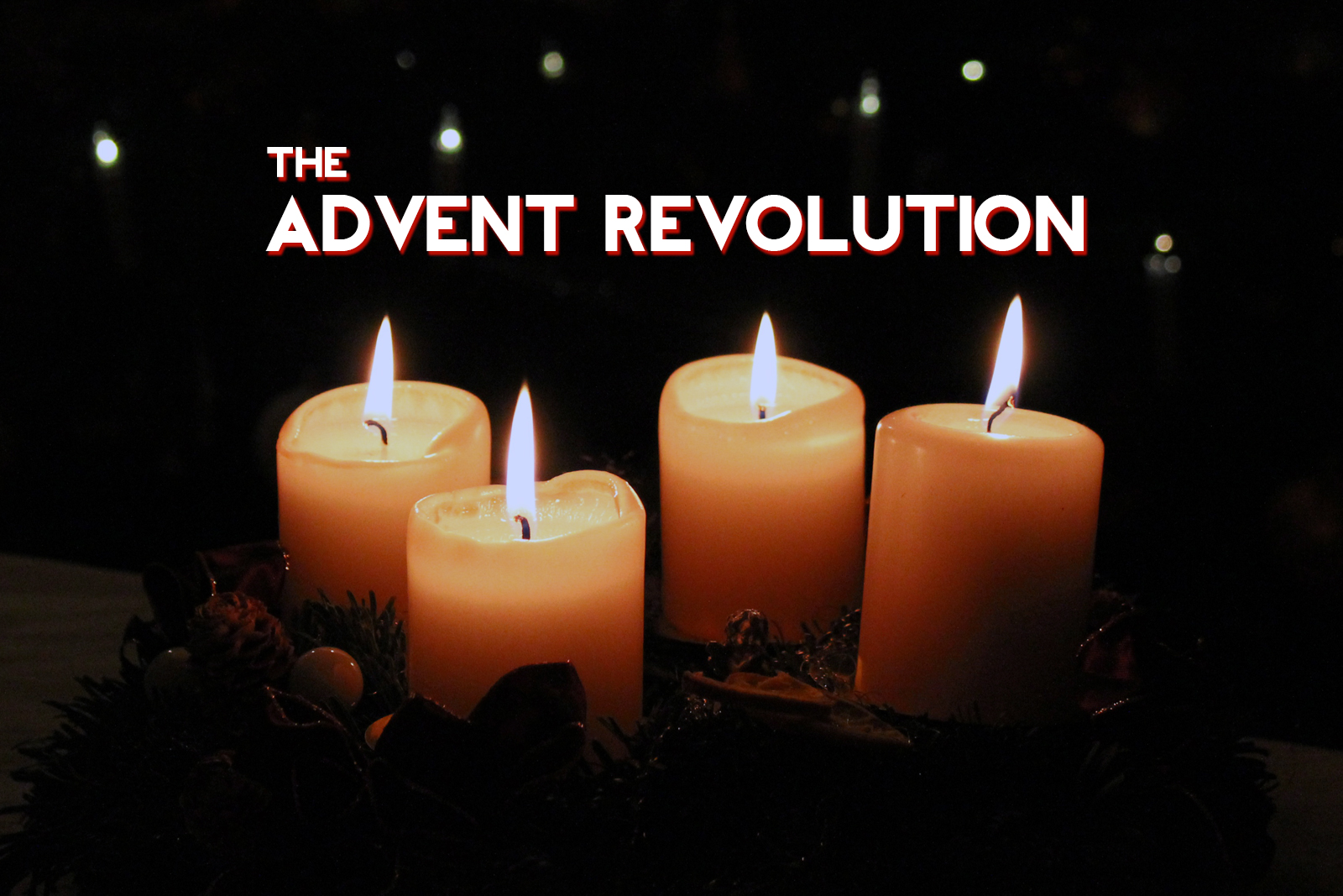 Questioning Christianity Podcast - Advent Revolution