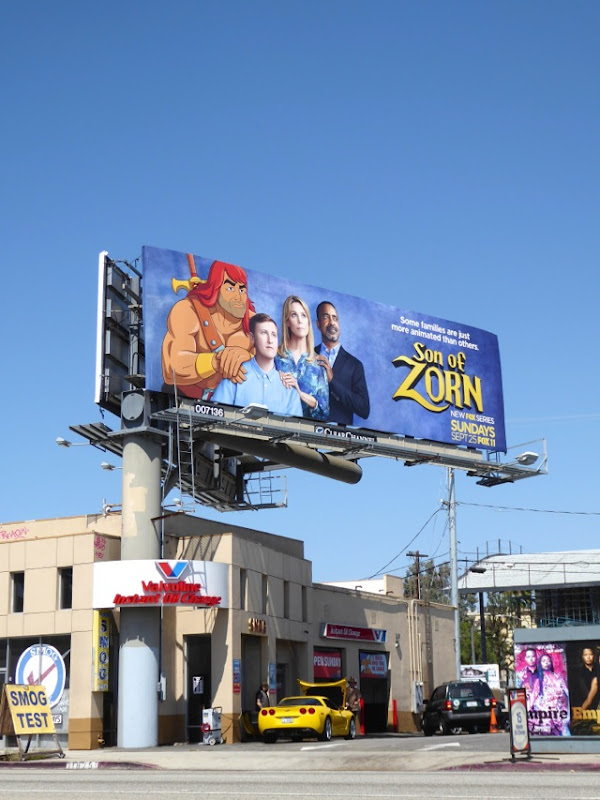 Son of Zorn TV billboard