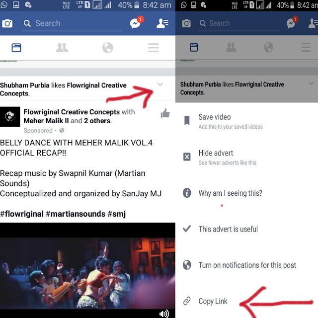 Videoder app download Facebook