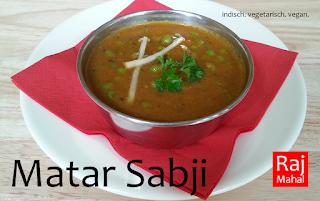 Matar Sabji: Erbsen in würziger Tomatenzwiebelsoße