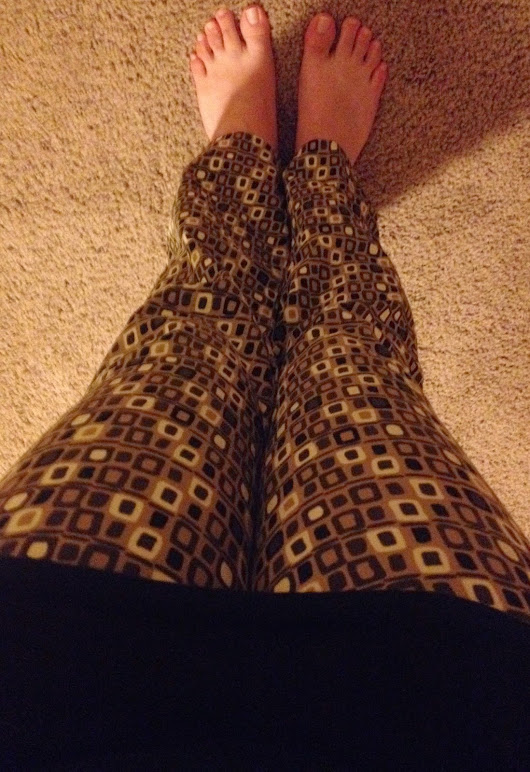 Crazy Pants Friday #4: (Almost) Checkered Pants