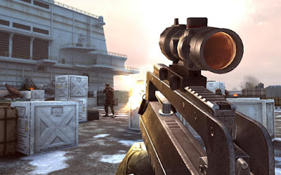 Tampilan Game Modern Combat 3 Fallen Nation