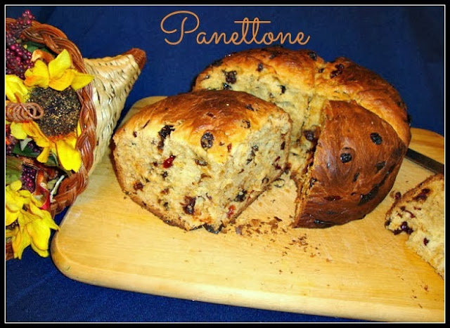 Panettone Recipe /  Italian Christmas Bread Recipe / Christmas Panettone Bread Recipe