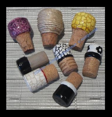RECICLANDO ROLHAS DE VINHO; arte com rolha; reciclagem; lixo é luxo