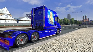 Scania Longline Tcab Blue Eyes v2 mod by ScaniaLAD