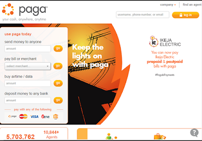 You can use Paga to pay for almost everything