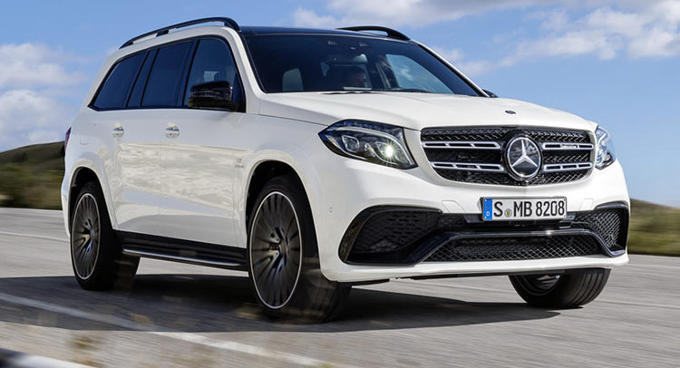 mercedes turns gl into 2017 gls says it s the s class of suvs 26 pics. Black Bedroom Furniture Sets. Home Design Ideas