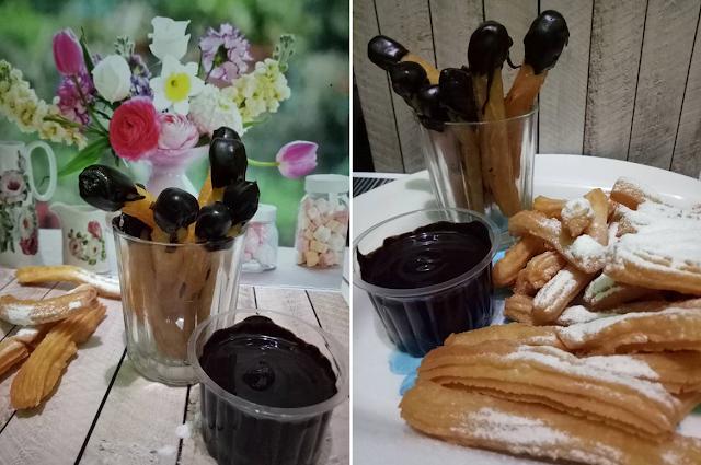 Resep Churros Keju Coklat Enak dan Sederhana