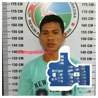 Personil Sat Narkoba Siantar Ringkus Pengedar Sabu,TKP Jalan Nagur